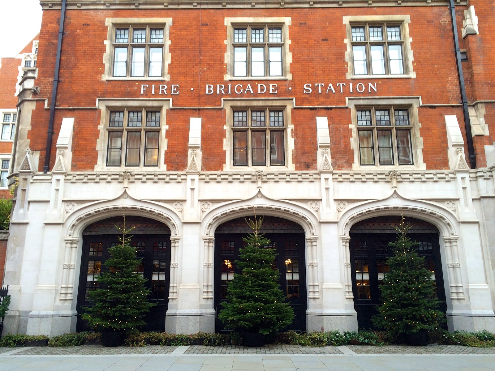 Chiltern firehouse marylebone christmas
