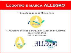 Criação do logotipo ALLEGRO