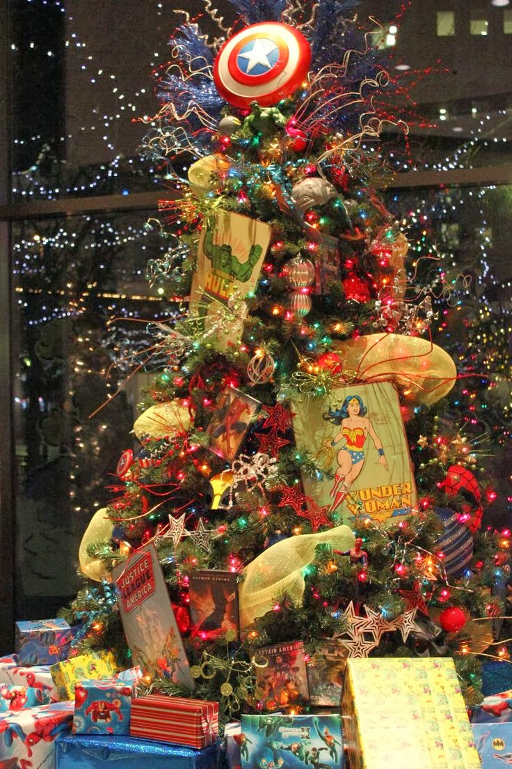 Themed Christmas Tree Ideas Just Short Of Crazy