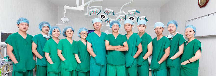 Đội ngủ y bác sỹ giỏi tay nghề cao