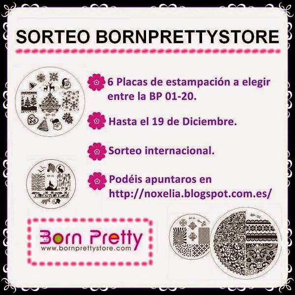 Sorteo Noxelia en colaboracion Born Pretty Store