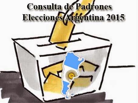 Consulta Padrones 2015