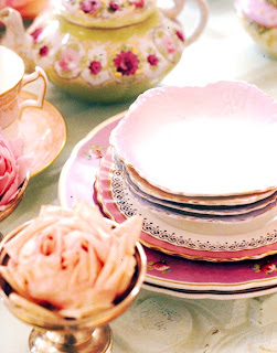 Pretty Pink Lolita dining ware, perfect for a spring tea.