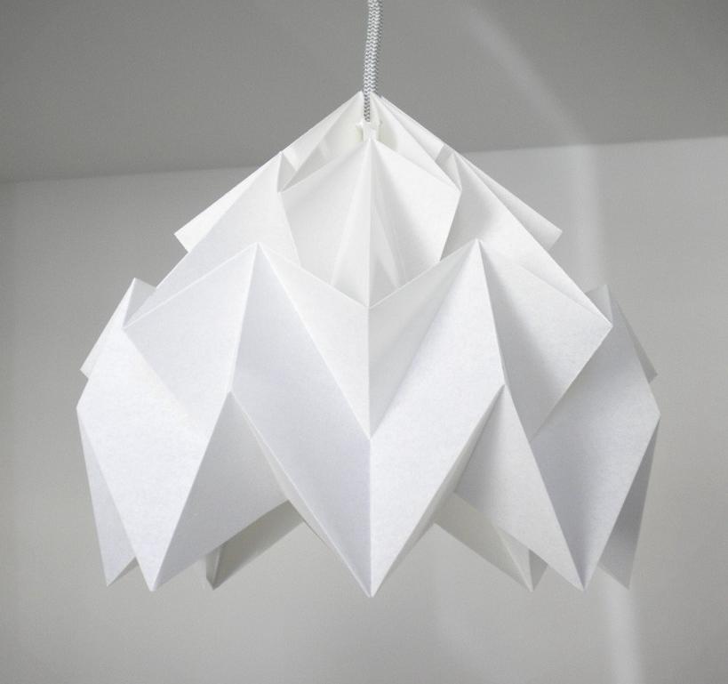 lampadario origami : Interior Design, Lighting, Origami Lampshades, Origami Inspiration ...