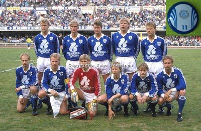 Seleção antiga da Finlândia