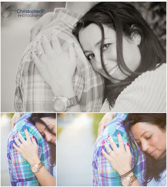 Natural Portrait Engagement Photo