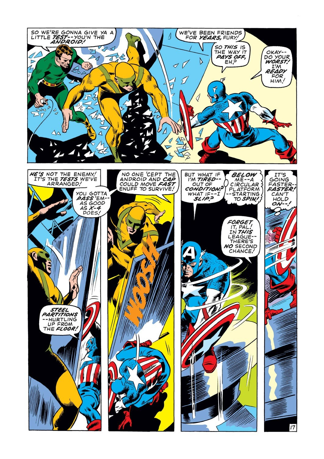 Captain America (1968) Issue #127 #41 - English 17