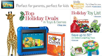 Top Holiday Deals, Top Deals in Toys and Games, Amazon Holiday Deals