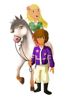 my riding stables 3d jumping for the team concept art 2 My Riding Stables 3D   Jumping for the Team (3DS)   Screenshots, Concept Art, & Press Release