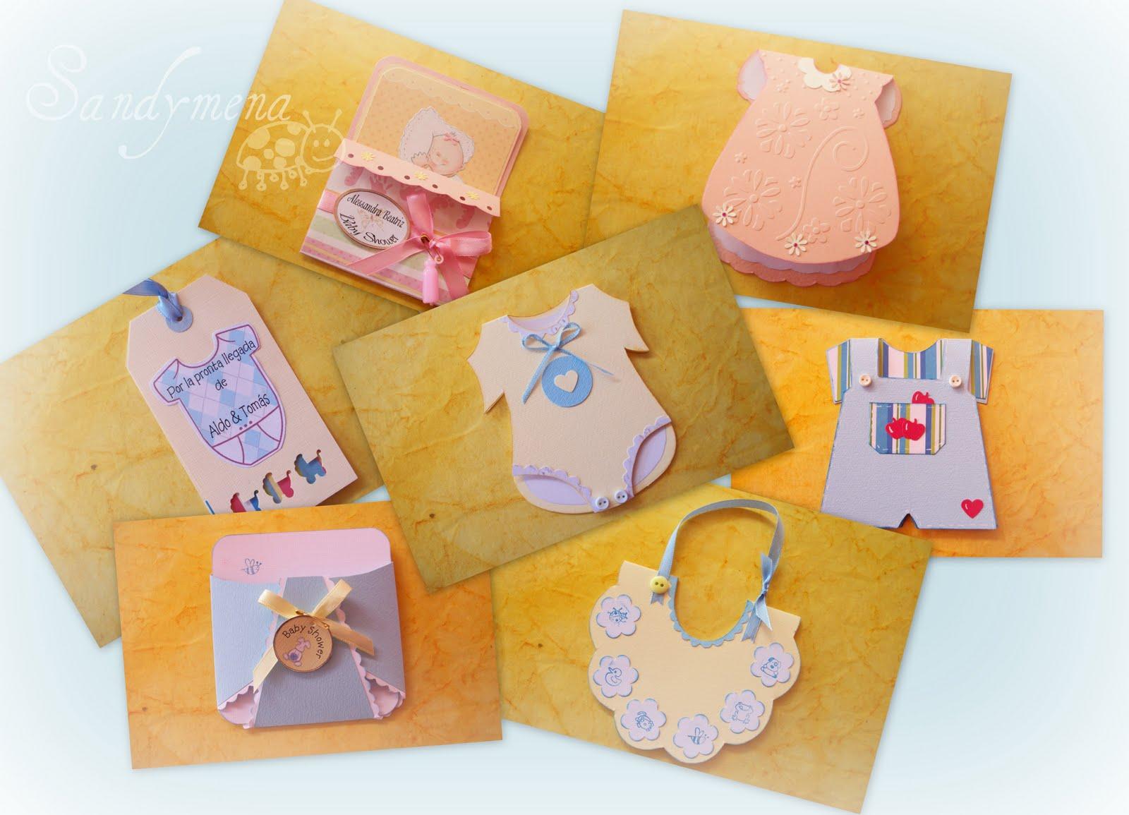 Tarjeteria artesanal: Tarjetas para Bebé