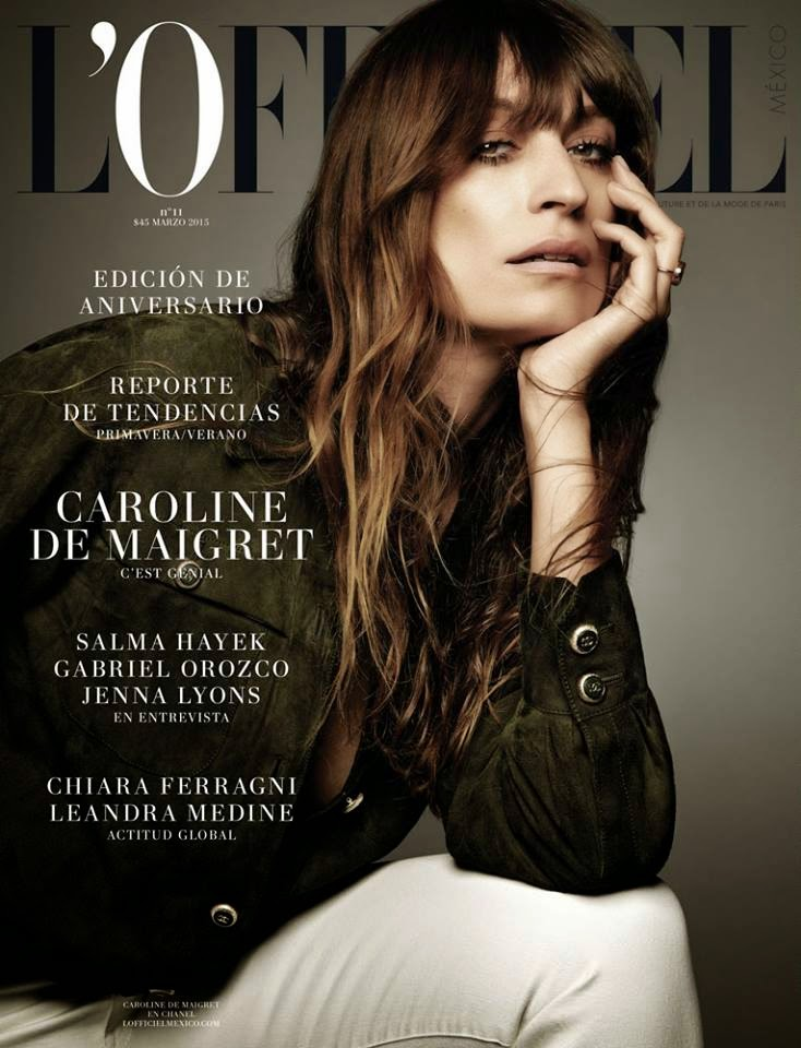Model @ Caroline de Maigret - L'Officiel Mexico, March 2015