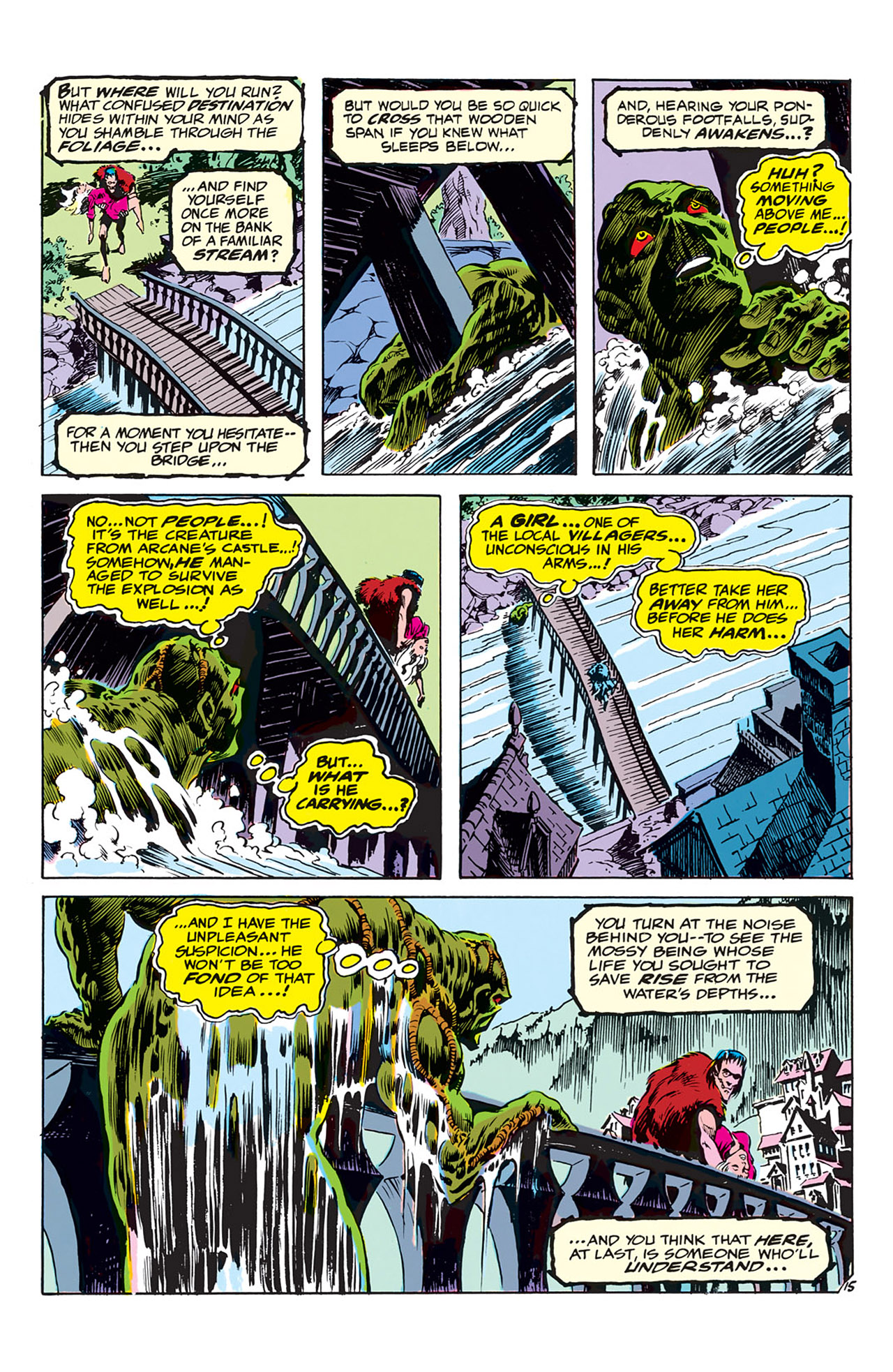 Swamp Thing (1972) Issue #3 #3 - English 16
