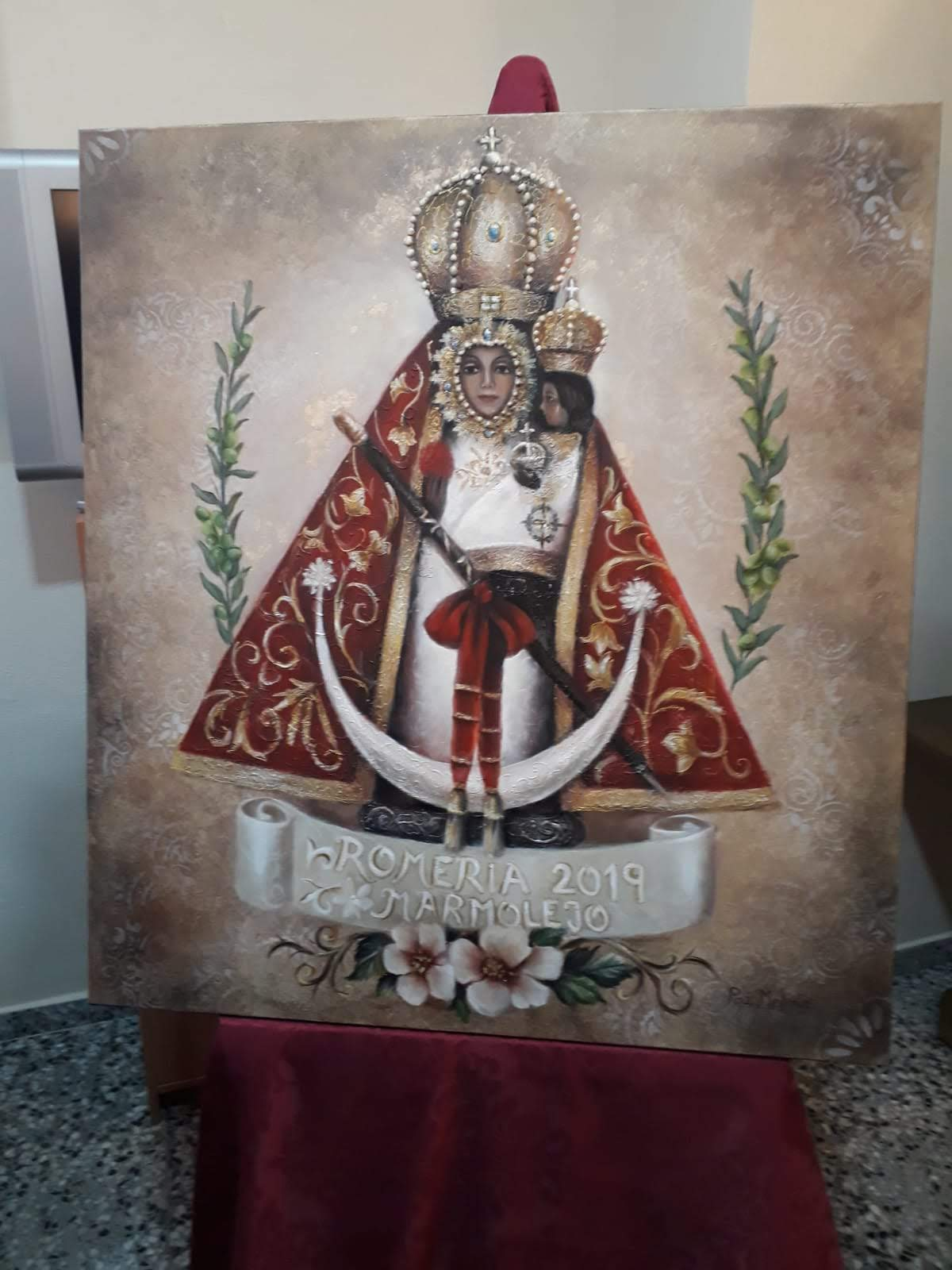 Cartel Romería Virgen de la Cabeza 2019 Marmolejo