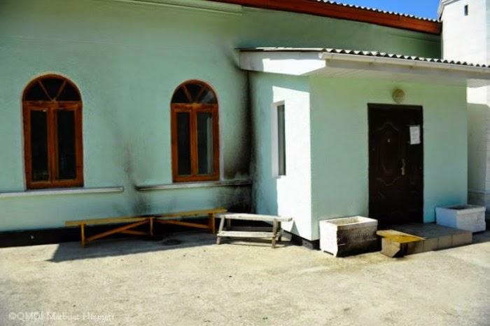 В Крыму в очередной раз попытались поджечь мечеть