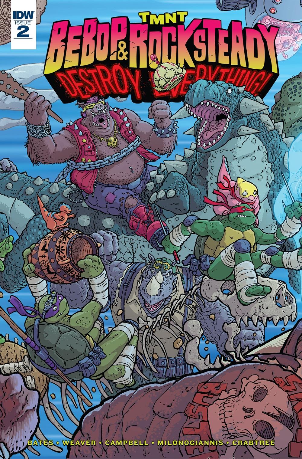 Teenage Mutant Ninja Turtles – Bebop & Rocksteady Destroy Everything