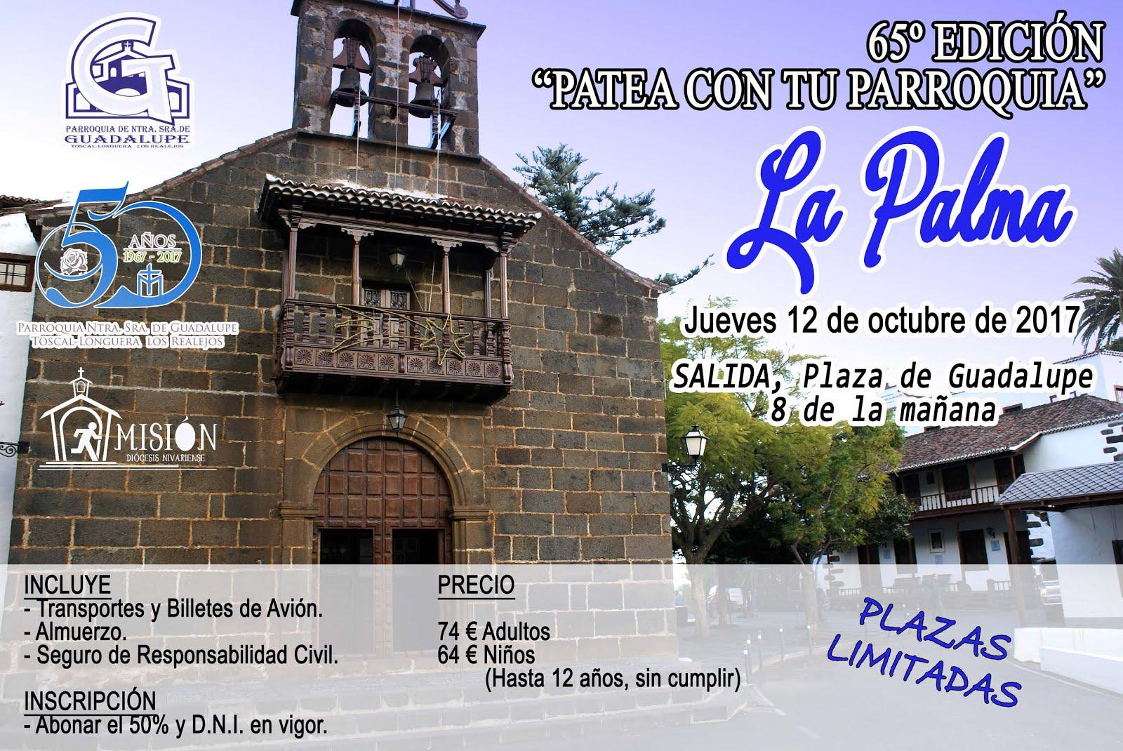Patea Con Tú Parroquia: La Palma