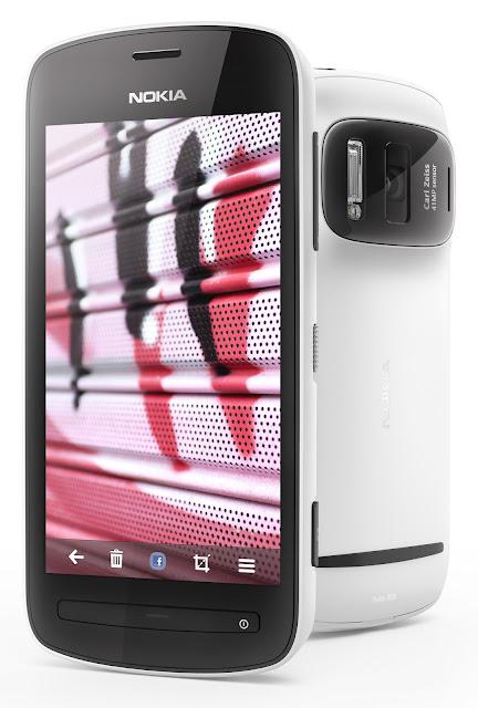 Nokia 808 Pureview, 41 Megapixeles, 2012