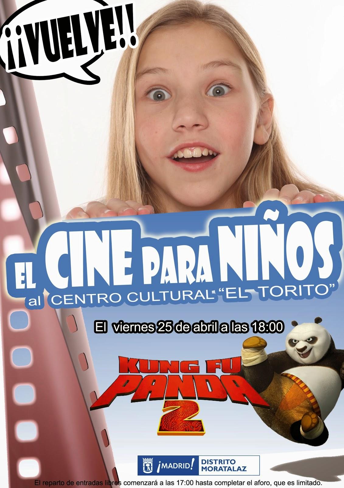 """Kung Fu Panda 2"" en Moratalaz."