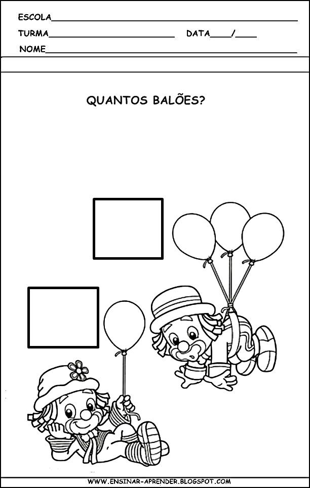 Muito Atividades e desenhos Dia do Circo - Atividades Pedagógicas ZY53