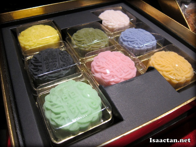 Mooncakes @ Lai Ching Yuen Grand Millennium Hotel