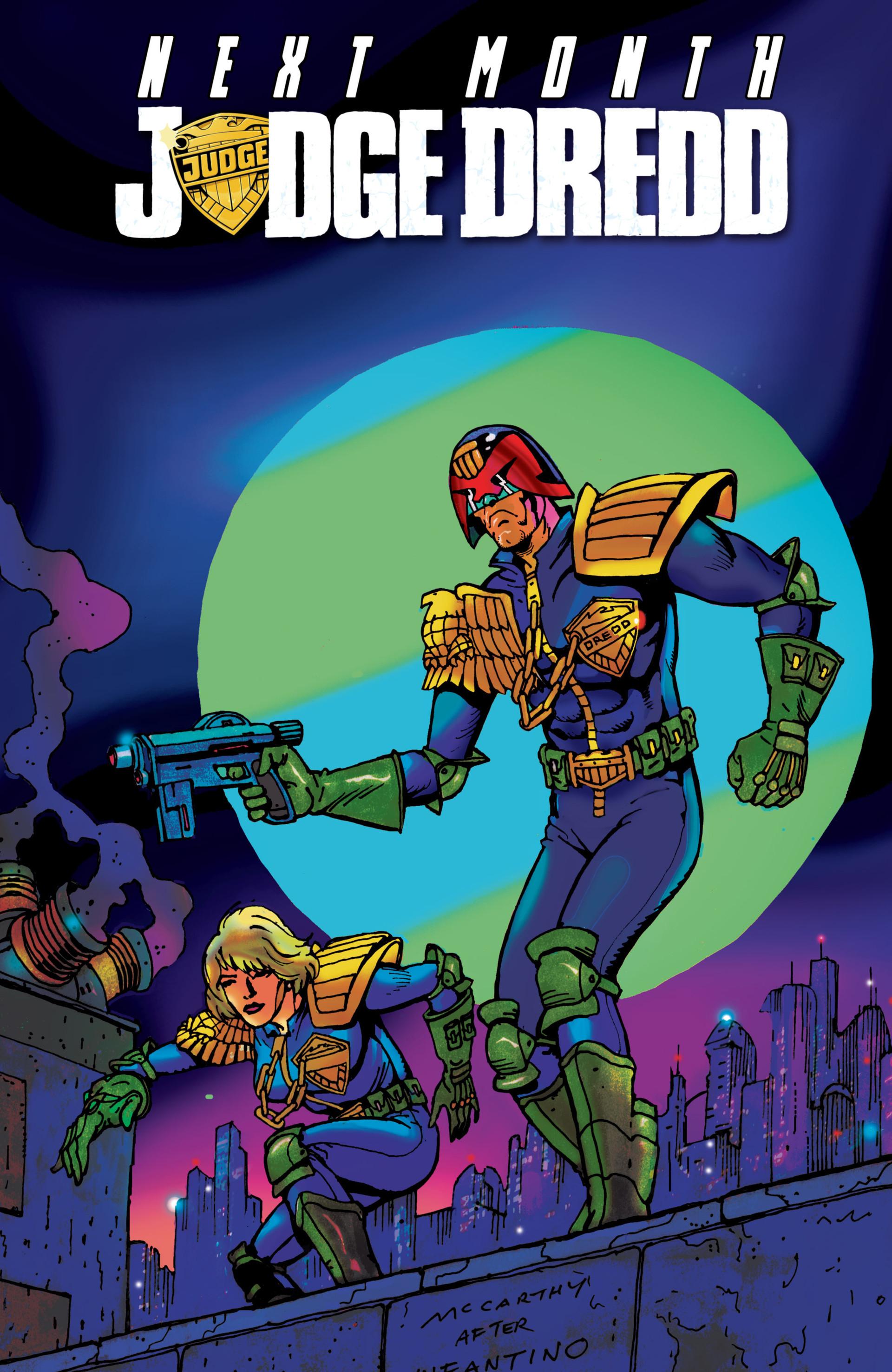 Read online Judge Dredd (2012) comic -  Issue #15 - 22