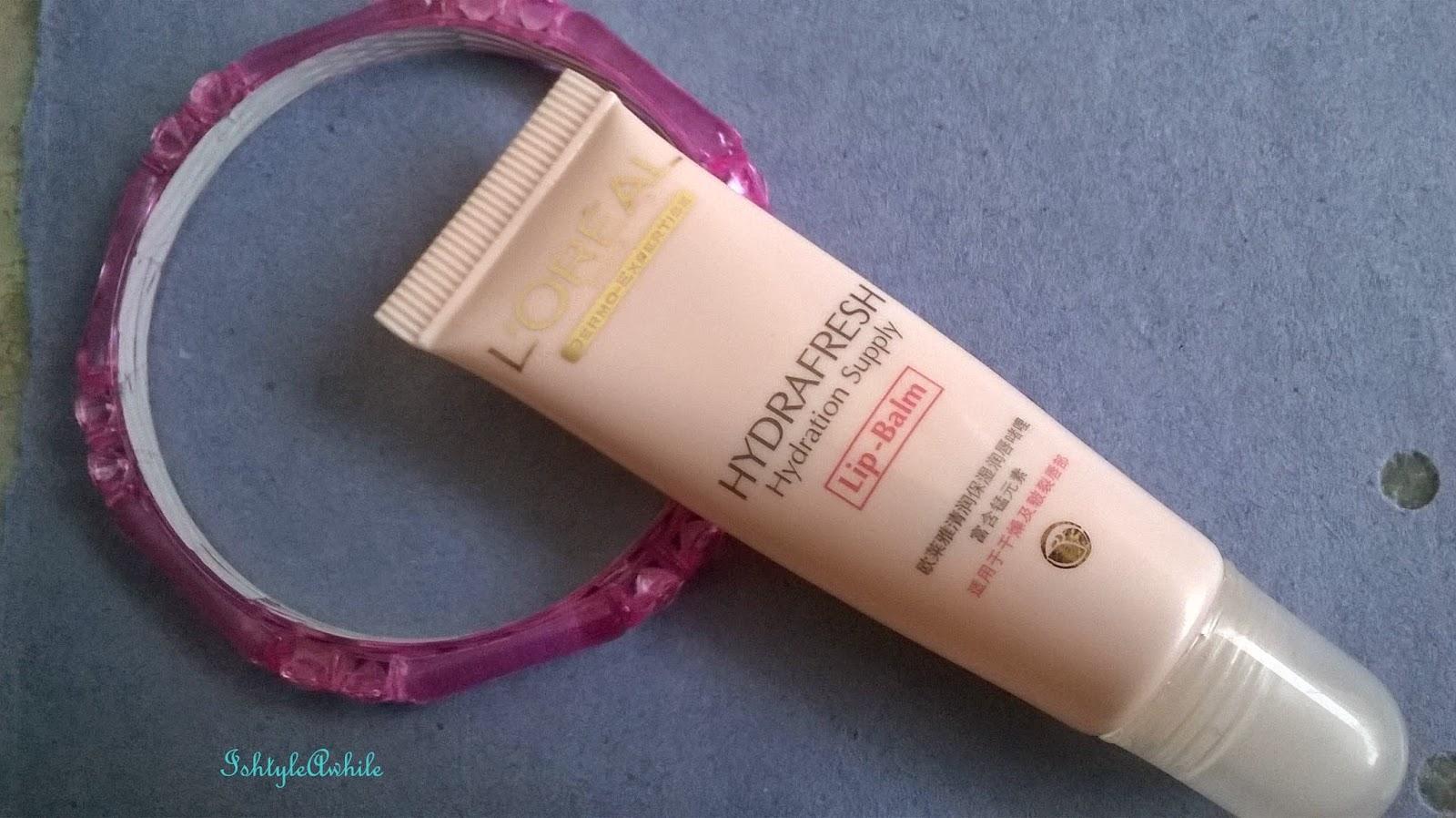 Summer Ma(Y)gic #7: SAMPLE REVIEW: L'Oreal HyrdraFresh Lip Balm image