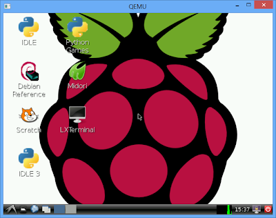 Raspberry Pi emulation for Windows, run on Windows 8