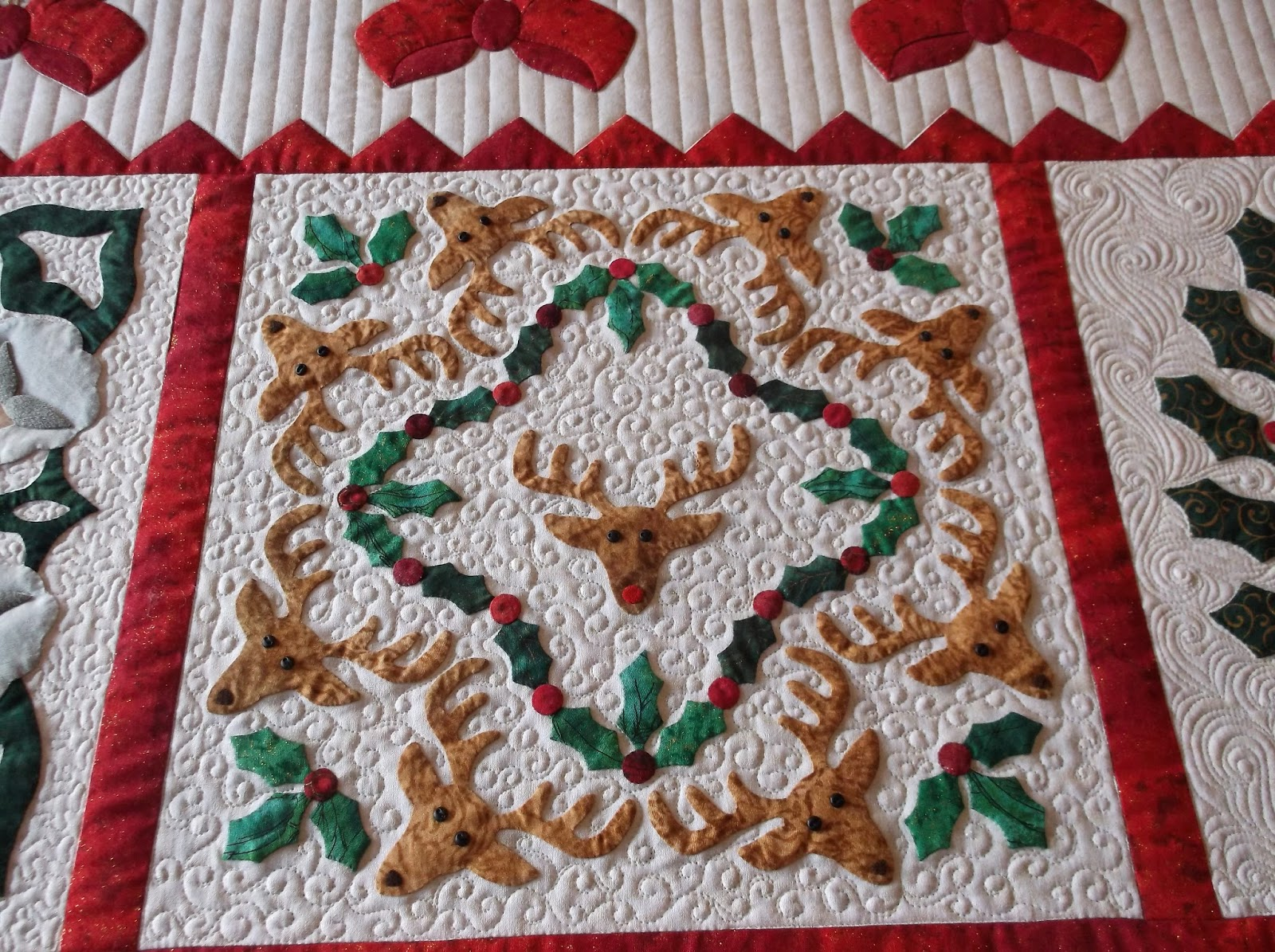 Creative Quilting by Debbie Stanton: Block Row One