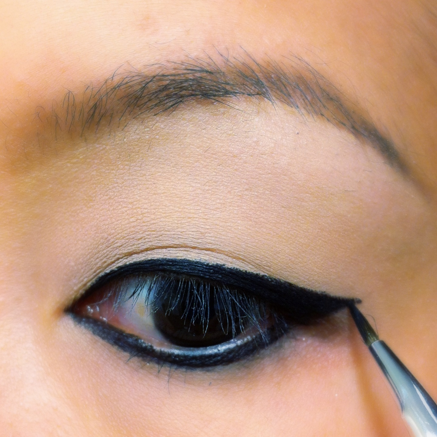 Cat Eye Using Pencil