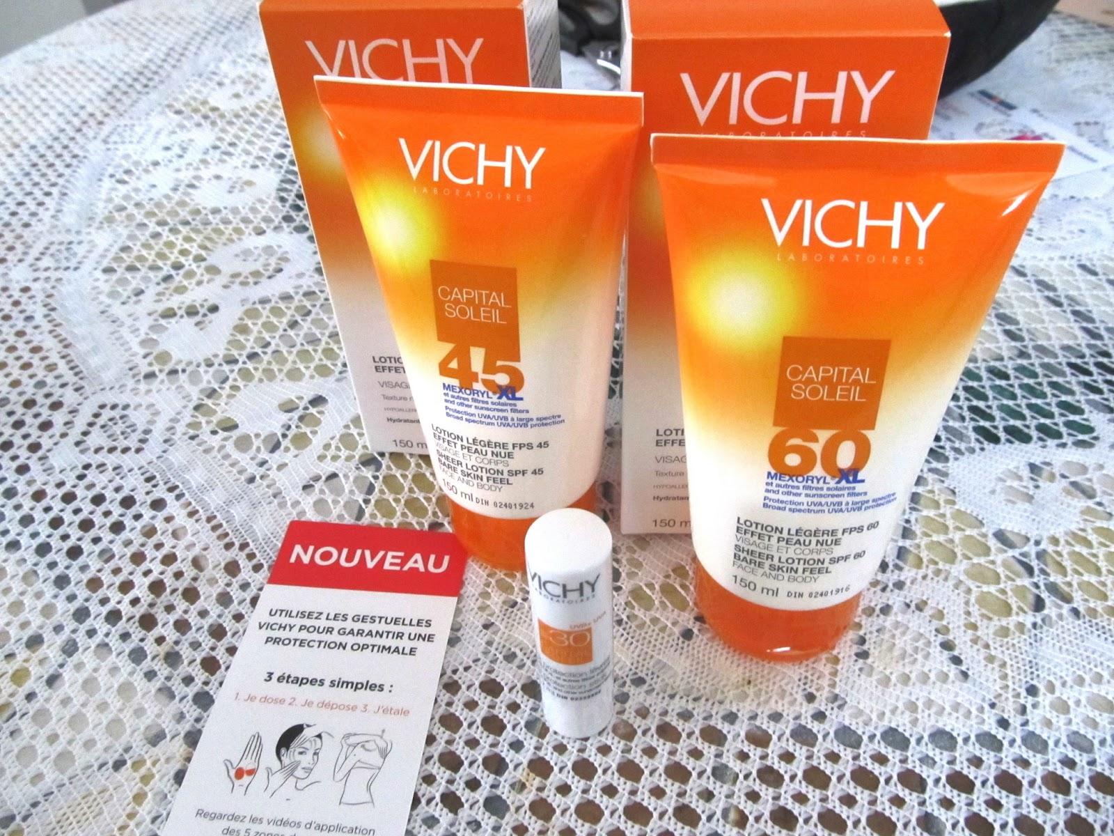 Vichy Capital Soleil! Nouveauté été 2013 qu'on doit avoir!
