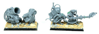 Skaven Poison Wind Mortar and Warpfire Thrower