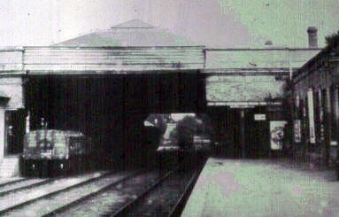 Pre War Gosport station
