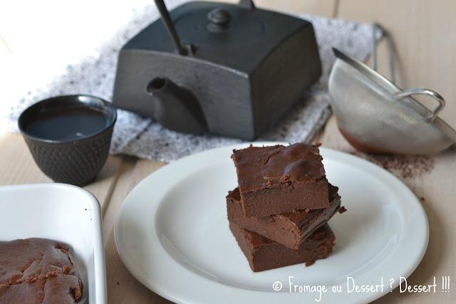 fondant au chocolat à la compote
