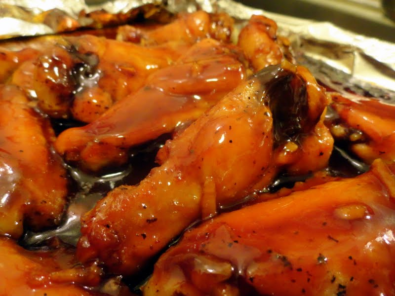 Sriracha Honey-Soy Chicken Wings