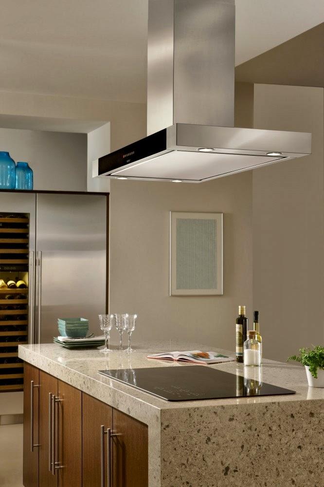 Muebles y decoraci n de interiores campanas wolf para cocinas - Campanas para cocinas ...