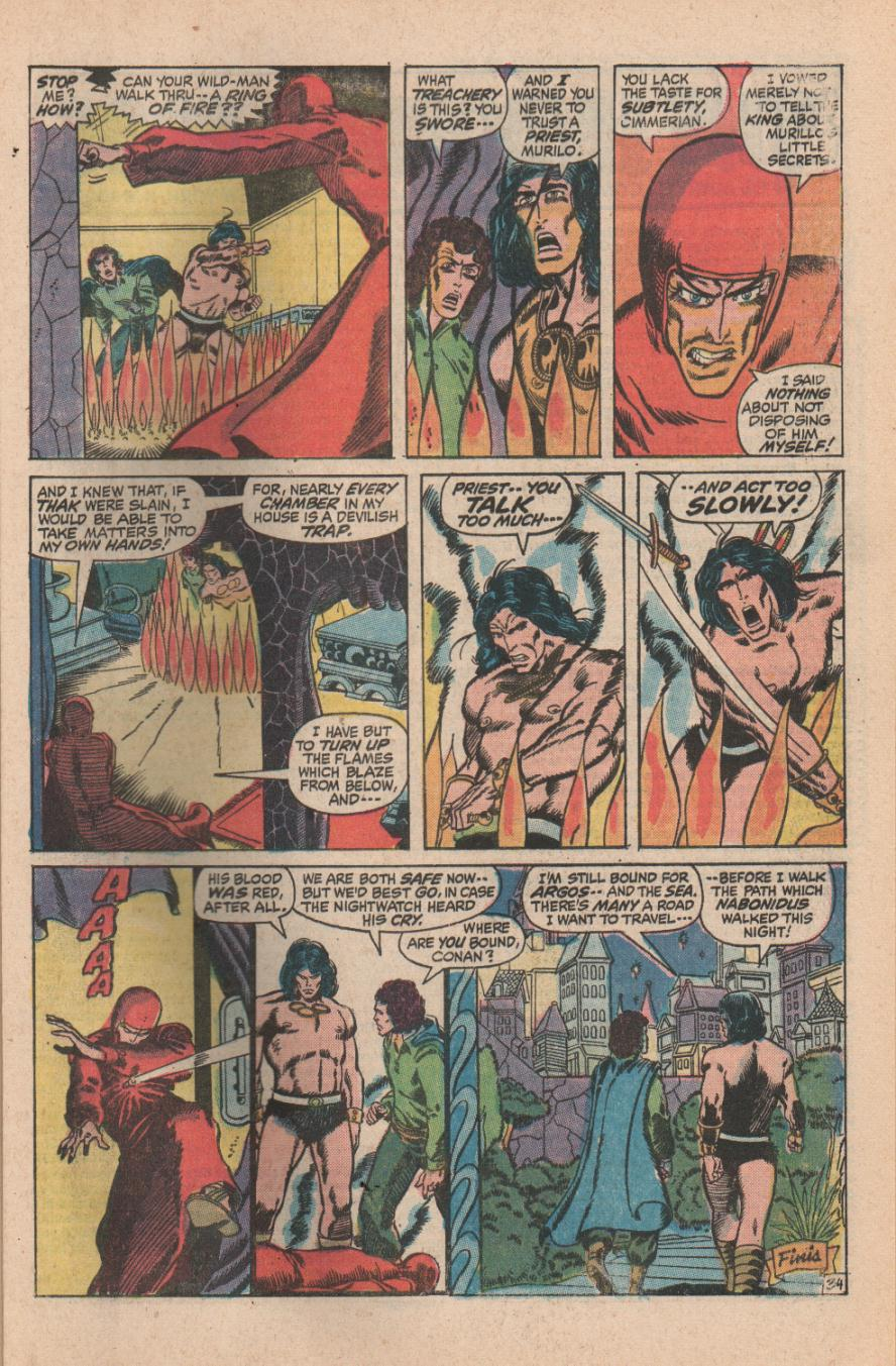 Conan the Barbarian (1970) Issue #11 #23 - English 47