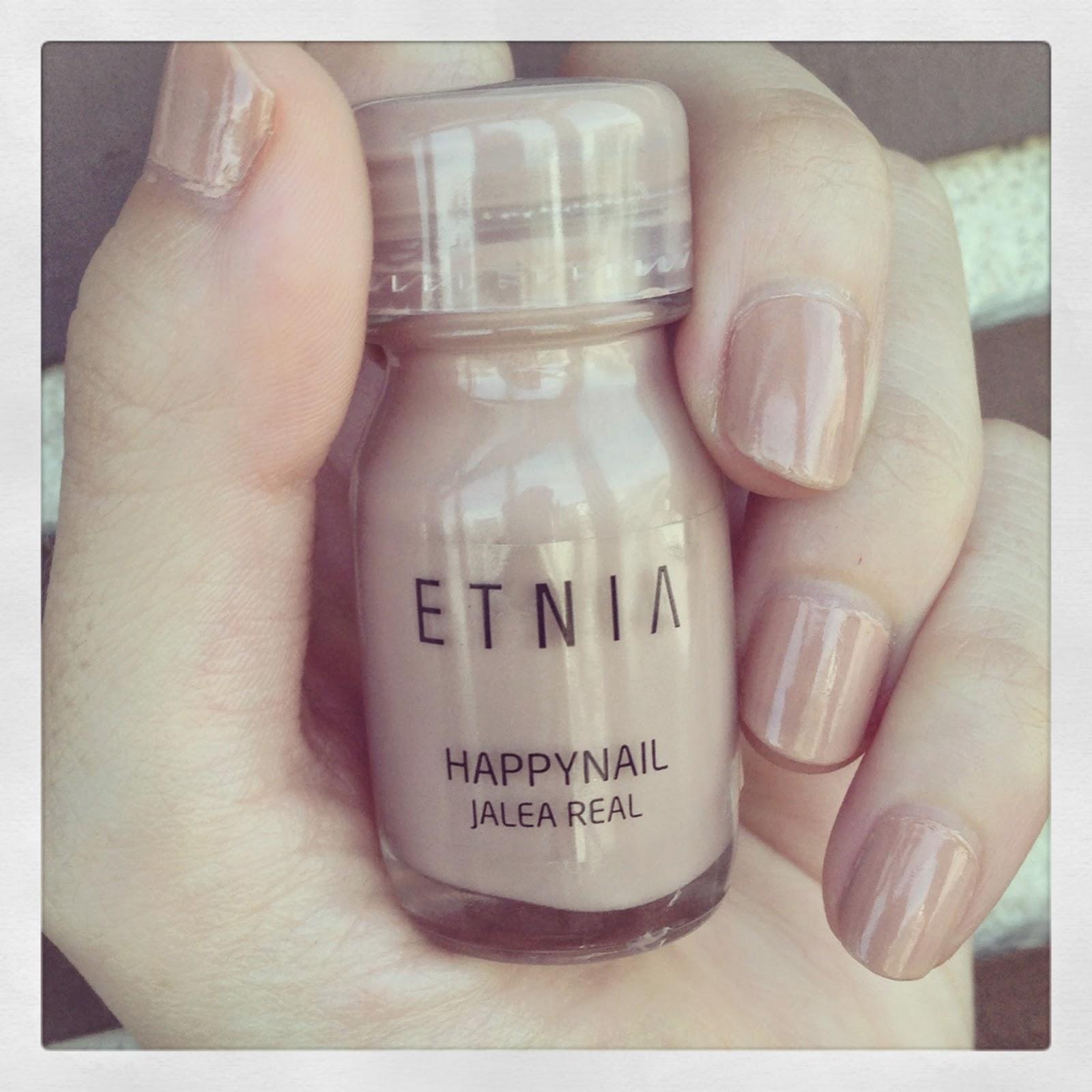 Happynail de Etnia, esmaltes de uñas con fragancias.