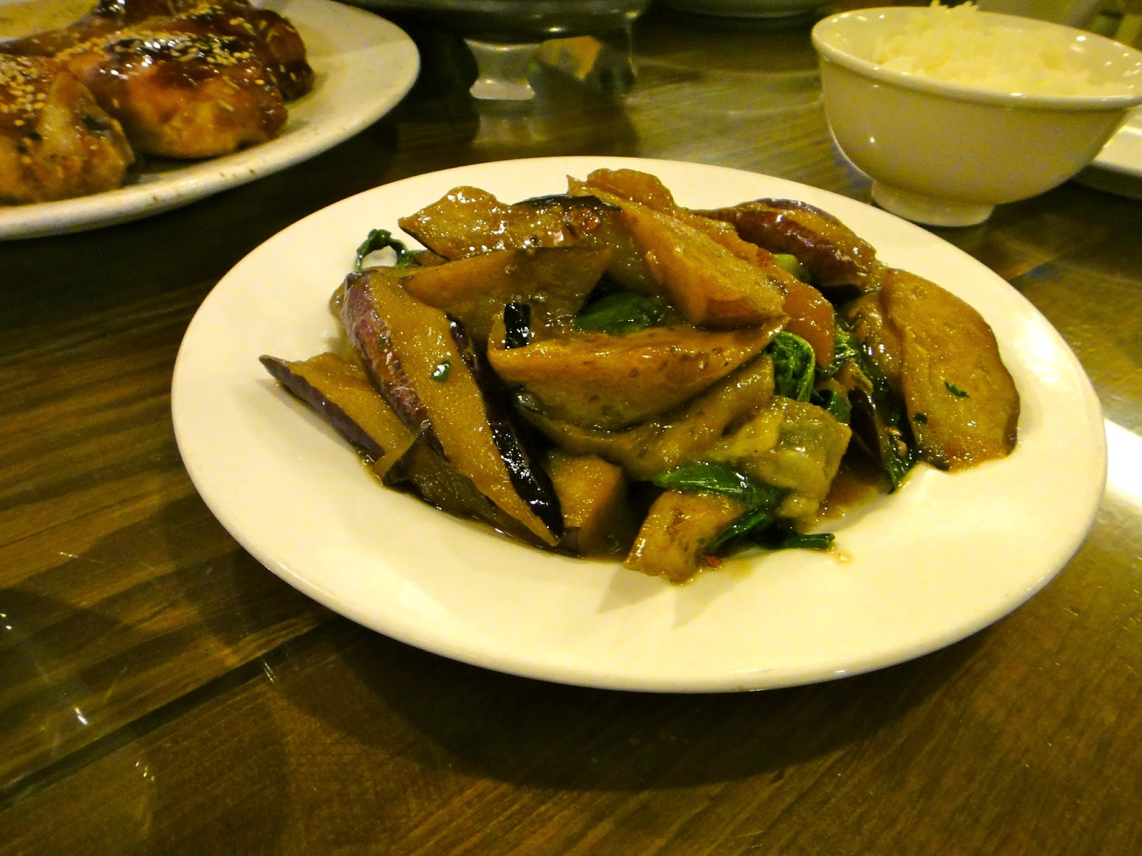 Misty Villa Eggplant Dinner