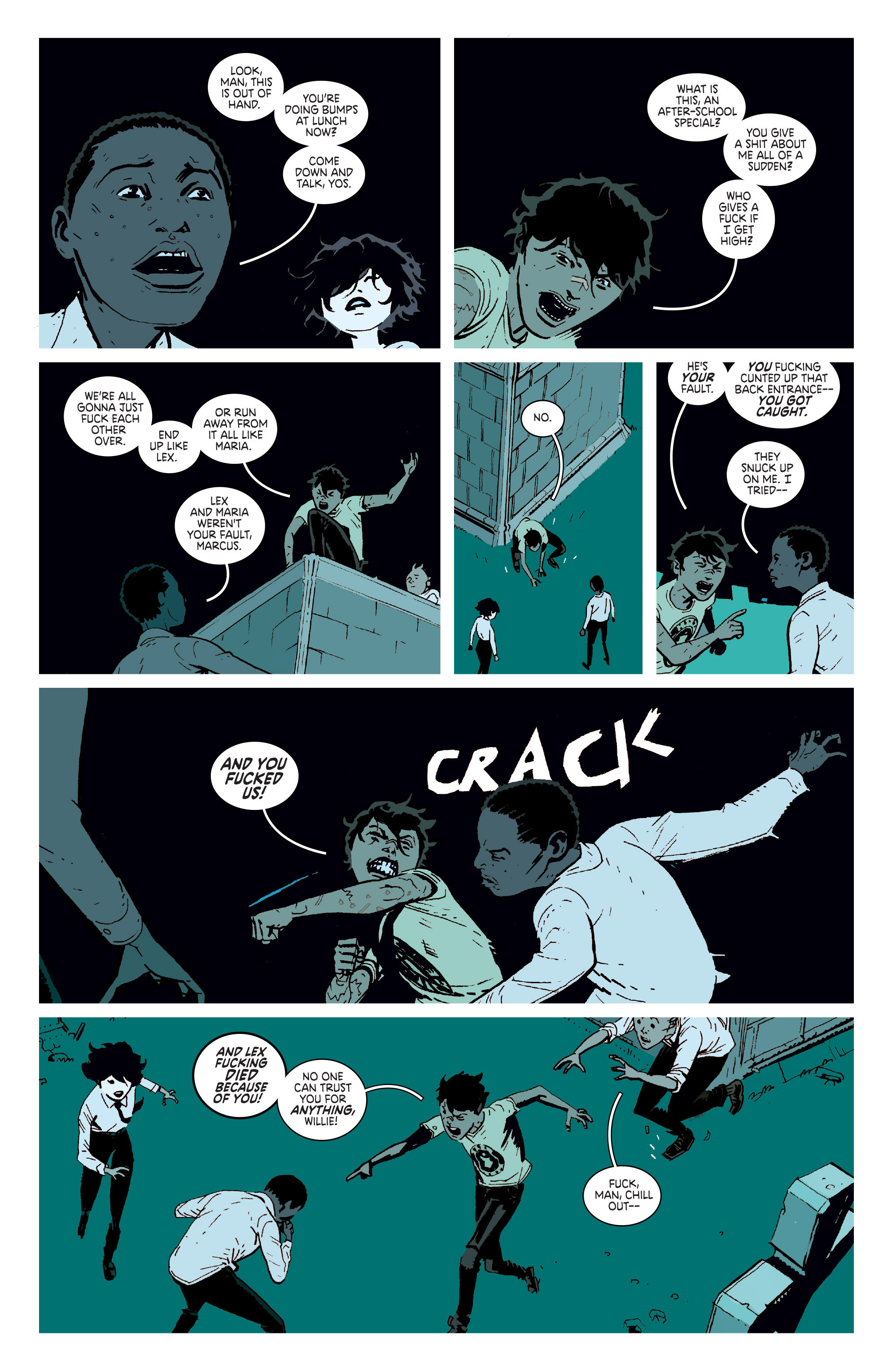 Read online Deadly Class comic -  Issue # _TPB 3 - 61
