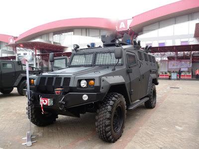 Kendaraan Tempur Komodo Varian APC - PT. Pindad