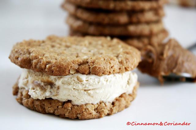 Biscoff Cookie Ice Cream Sandwich