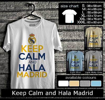 `kaos distro keep calm and hala madrid