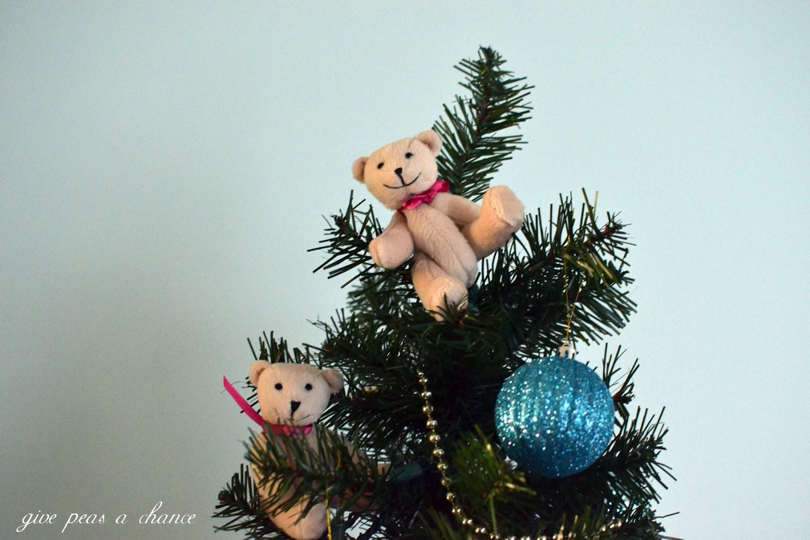 american girl bitty bear christmas tree - Bear Christmas Tree