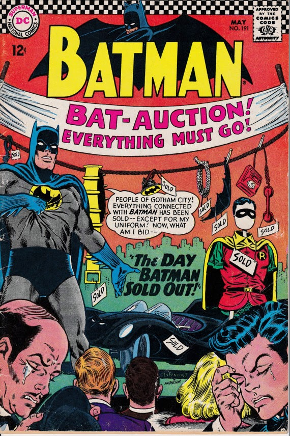 Batman (1940) #191, May 1967 Issue - DC Comics - Grade VG