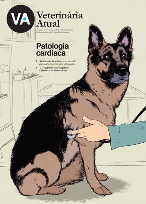 Veterinaria Atual German Shepard Cover