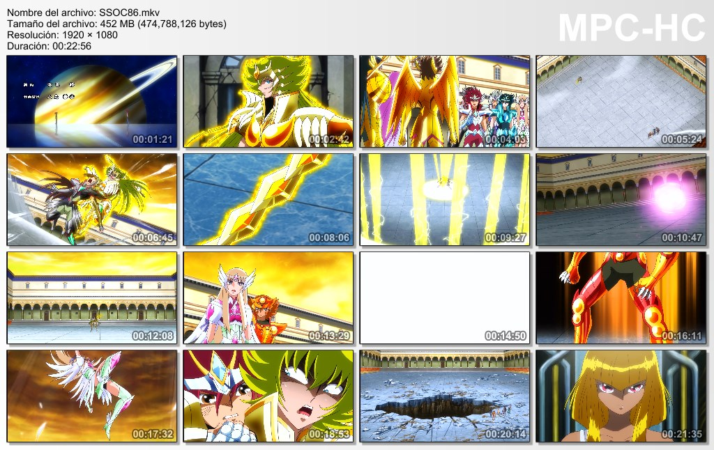 Saint Seiya Omega Temporada 2 Capitulo 34@40 (84@90)