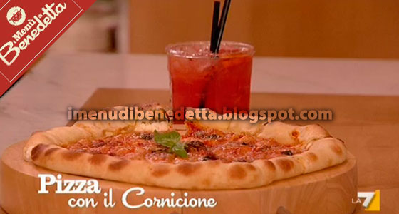 Pizza con Cornicione di Benedetta Parodi
