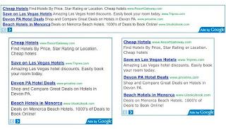 google adsense bloc ads