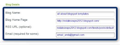 Cara ping blog di googleping.com