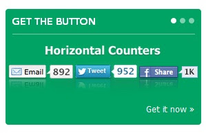 social sharing buttons with counter